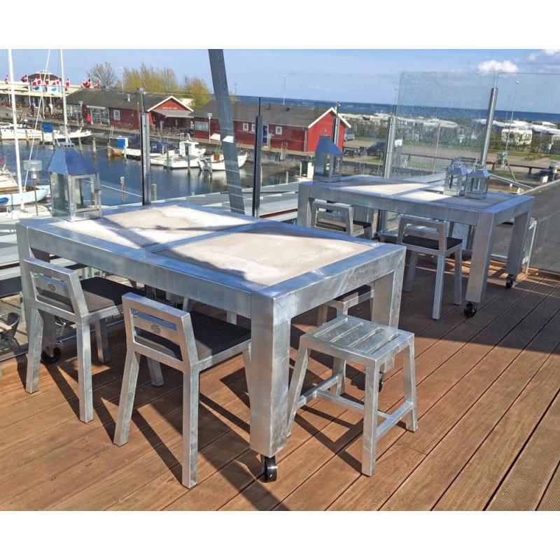 Wetterfester Gartentisch.Robuster Wetterfester Gartentisch A2 Living Hier Kaufen