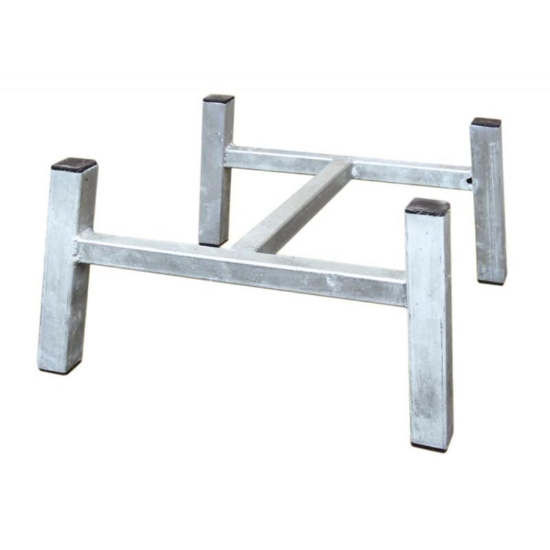 A2 Living Allwetter Untergestell Verzinkt Aus Metall Für Gartenbank Rostfreie  Gartenmöbel