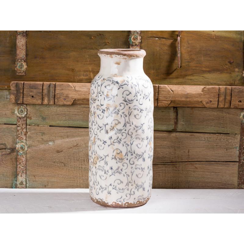 Vase Victoria Steingut Grau 38 Cm Affari Of Sweden Kaufen