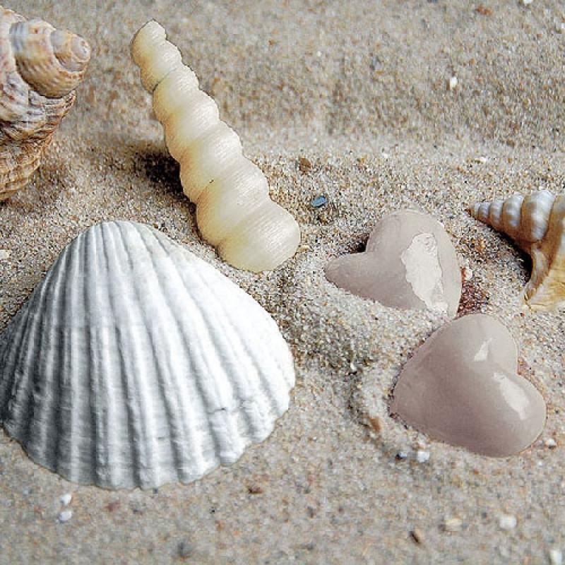 ambiente servietten hearts in sand serviette mit. Black Bedroom Furniture Sets. Home Design Ideas