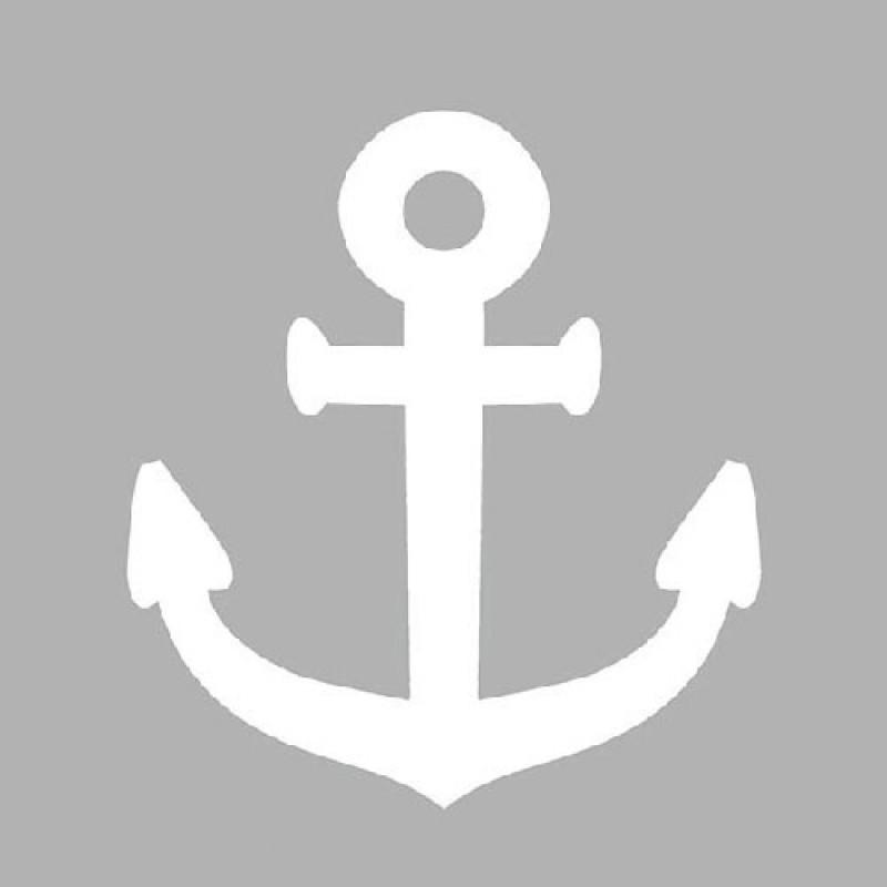 ambiente servietten navy grey maritime serviette in grau mit wei em anker von ambiente. Black Bedroom Furniture Sets. Home Design Ideas