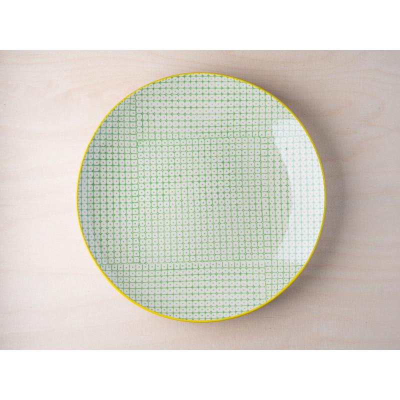 bloomingville carla plate teller carla aus keramik. Black Bedroom Furniture Sets. Home Design Ideas