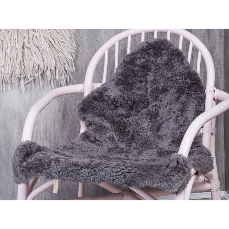 Bloomingville Sheepskin Grey Hochwertiges Schaffell In Grau