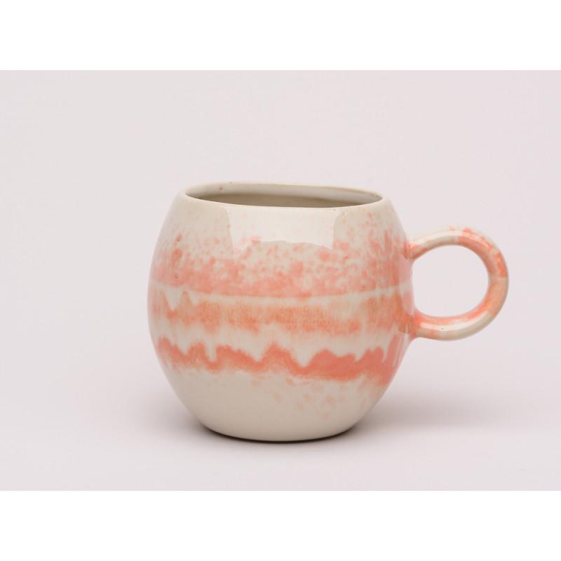 Tasse Batik Effekt | Orangene Tasse | jetzt hier kaufen!