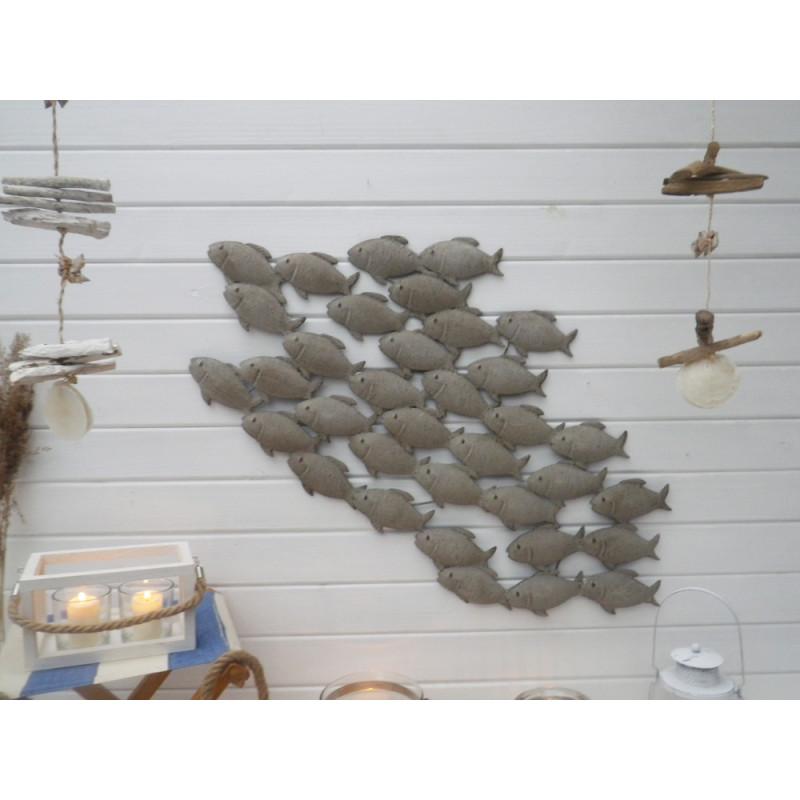Wand Objekt Fischschwarm 94 Cm Hier Online Bestellen