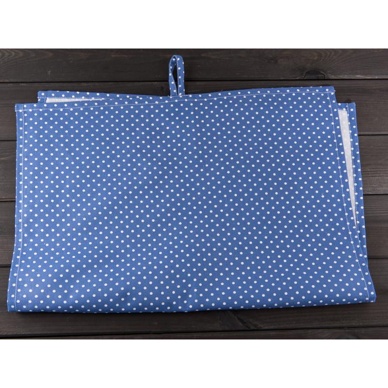 IB Laursen - Geschirrtuch blau mit Pünktchen. Geschirrhandtuch aus ...