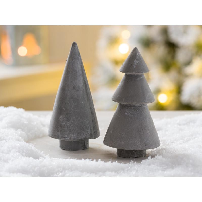 Beton Weihnachtsdeko.Deko Weihnachtsbäume Aus Beton Ib Laursen