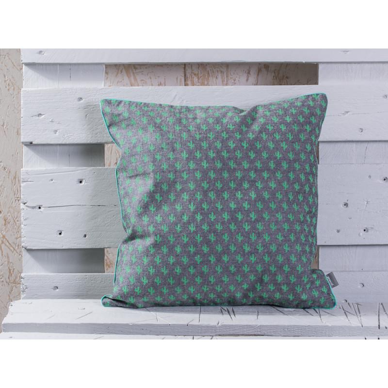 pad concept kaktus kissen hajo mit gr nen kakteen kissenh lle aus baumwolle hergestellt. Black Bedroom Furniture Sets. Home Design Ideas