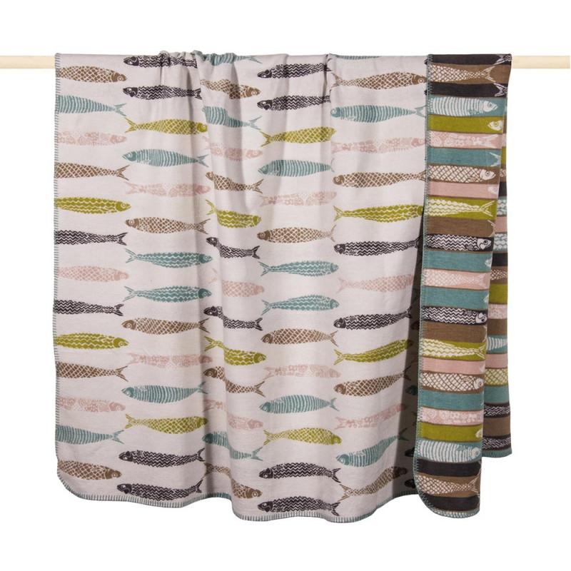 wolldecke multicolor sardinen pad online bestellen. Black Bedroom Furniture Sets. Home Design Ideas