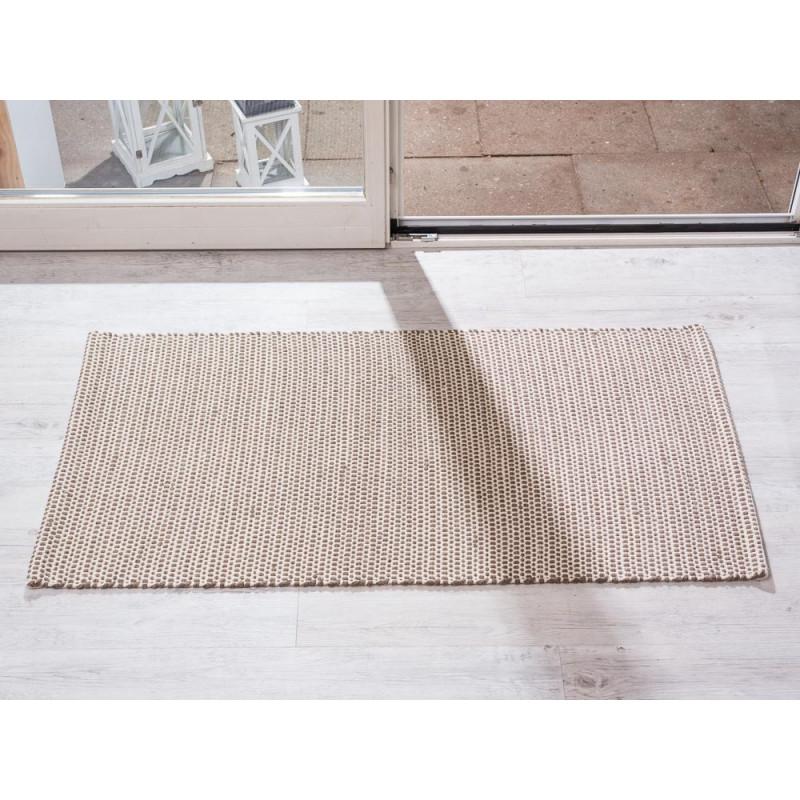 Indoor Teppich Snap Beige Braun 72x132 Pad Concept