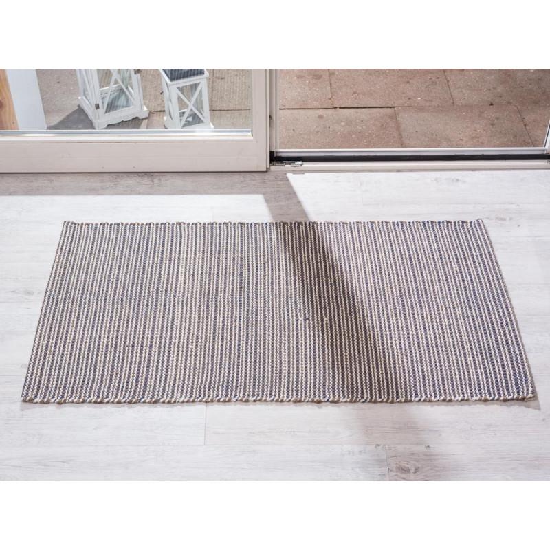 Indoor Teppich Snap Blau 72x132 Cm Pad Concept