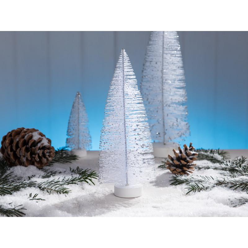 wei er tannenbaum als deko objekt zu weihnachten in der. Black Bedroom Furniture Sets. Home Design Ideas