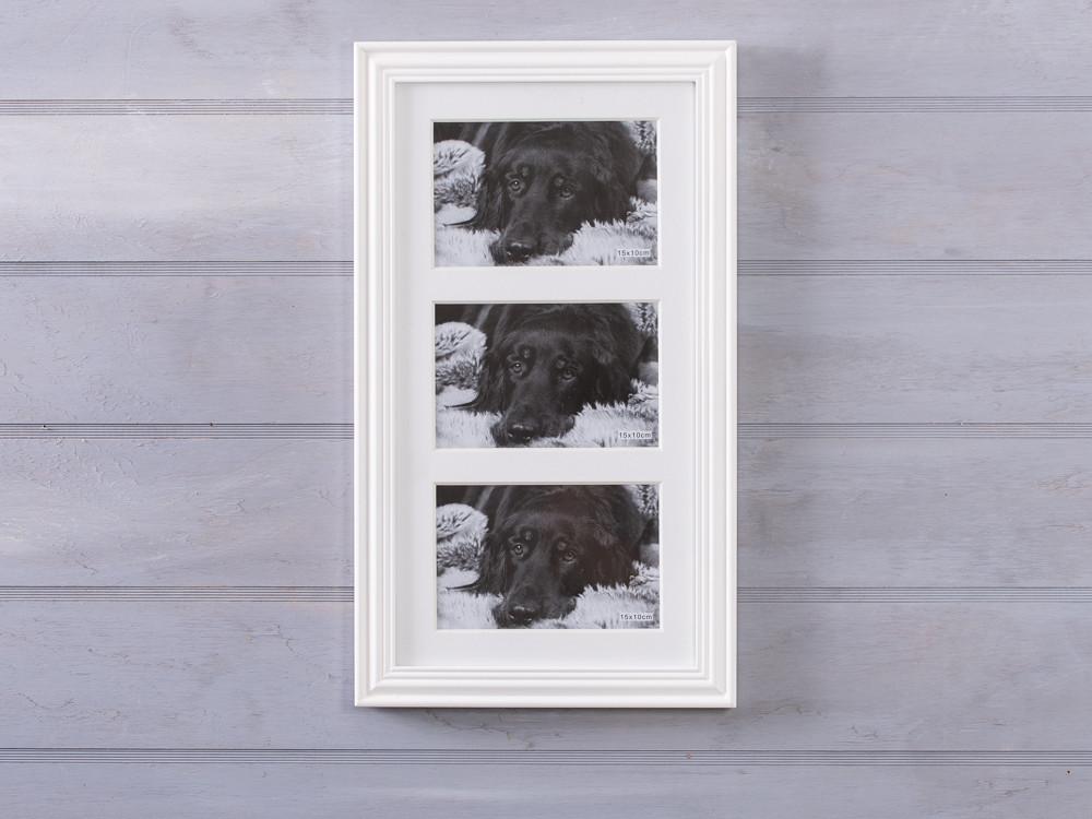bilderrahmen linda wei f r drei fotos hier online bestellen. Black Bedroom Furniture Sets. Home Design Ideas