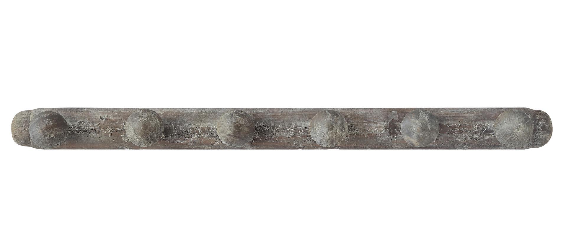 Hakenleiste Aus Holz Mit 6 Haken