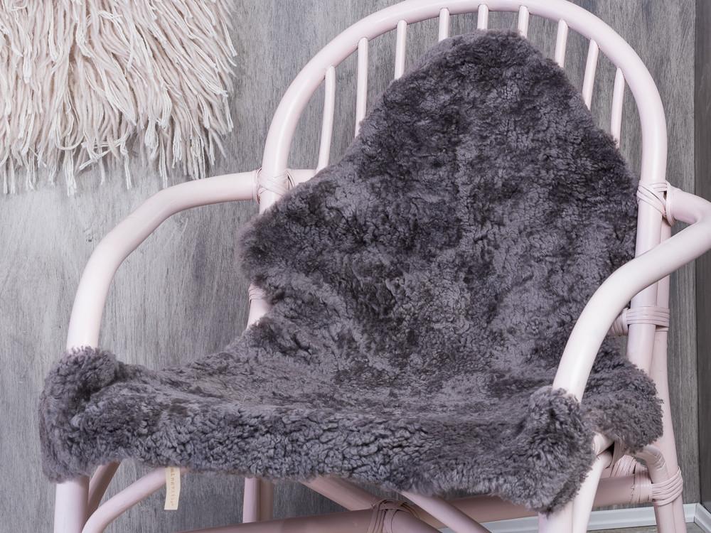Bloomingville sheepskin grey. hochwertiges schaffell in grau von