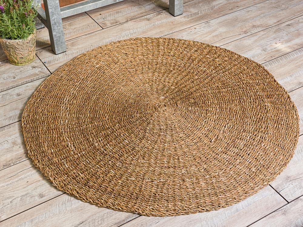 Runder Seegras Teppich 120 Cm Bloomingville Hier Kaufen