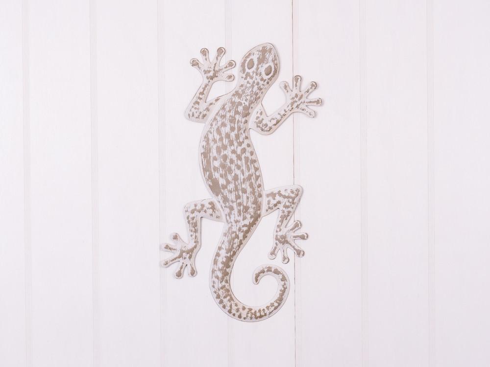 Deko objekt gecko aus metall hier bestellen for Deko bestellen