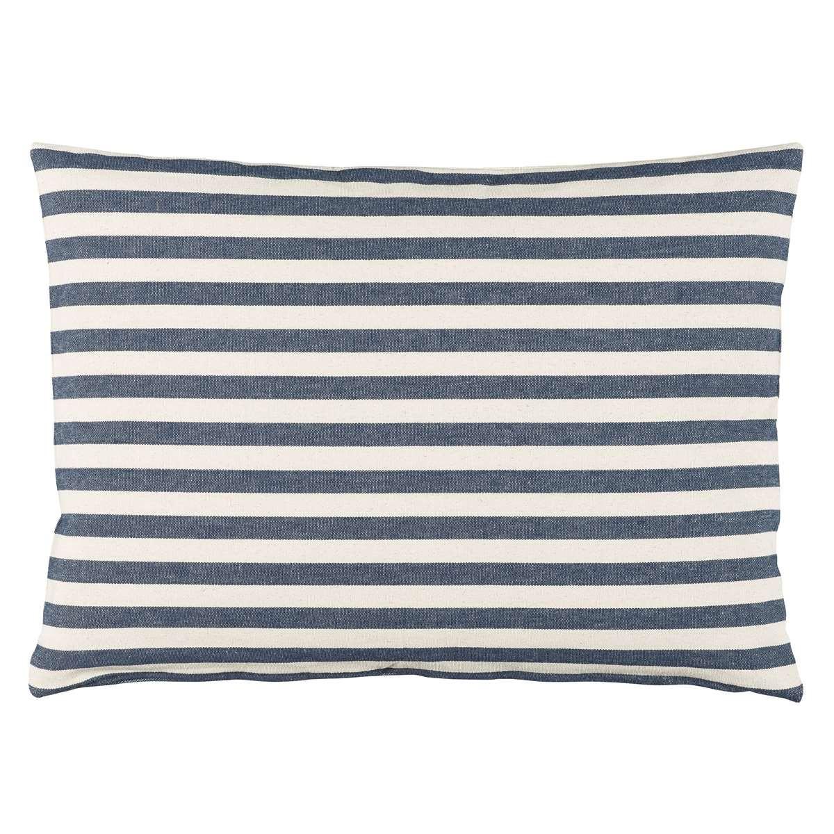 ib laursen kissenh lle 50x70 streifen blau wei. Black Bedroom Furniture Sets. Home Design Ideas