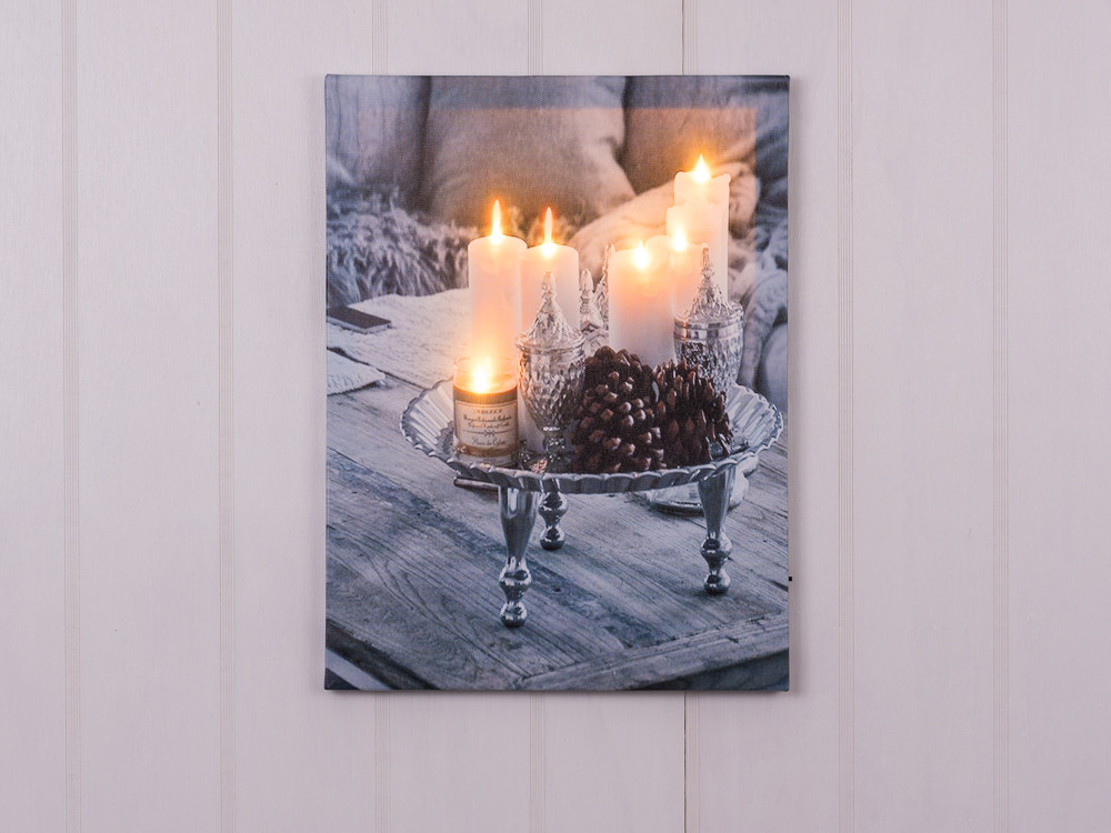 bilder mit led led bilder mit terrassenmotiven 2er set bilder dekoratve bilder leuchte mit led. Black Bedroom Furniture Sets. Home Design Ideas