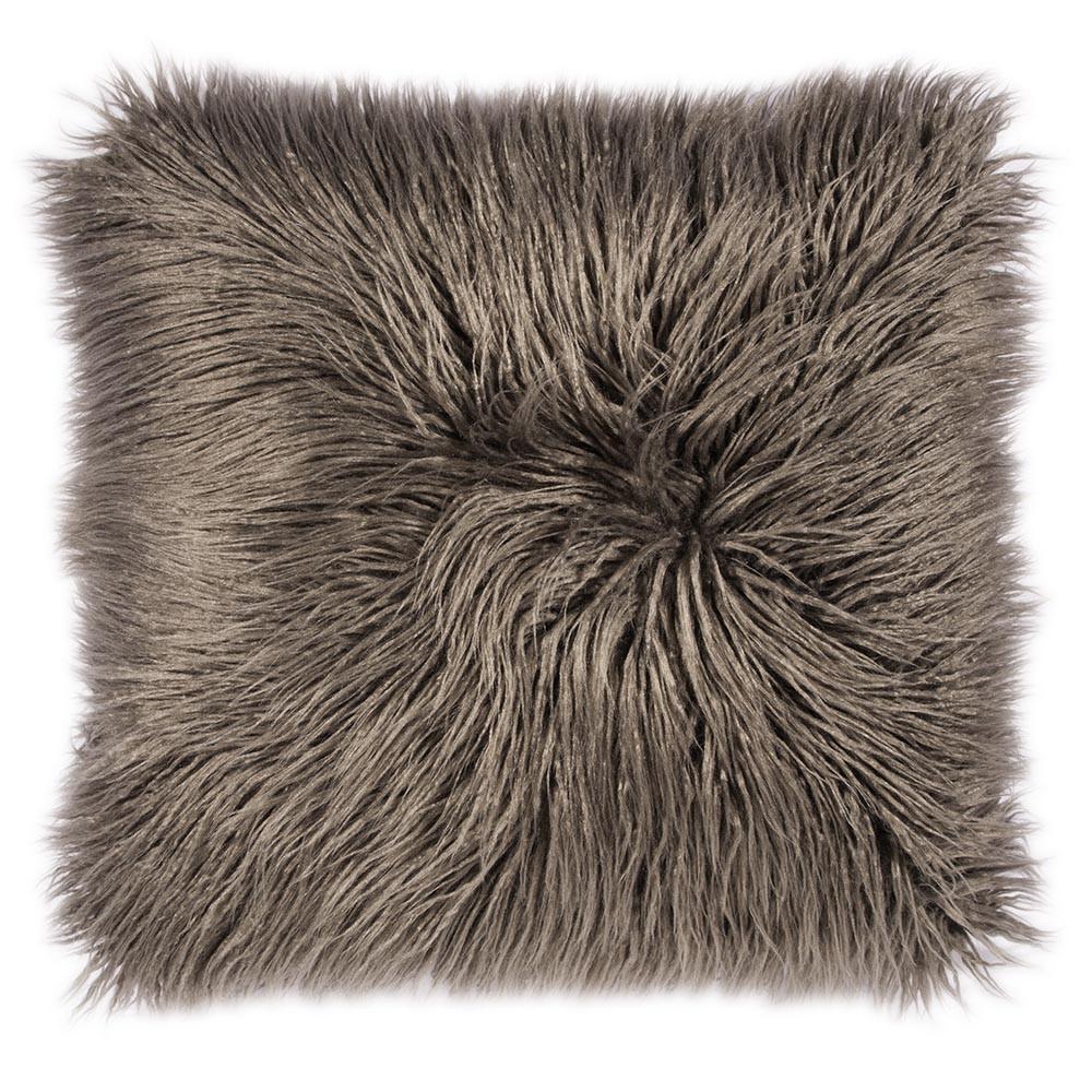 fellkissen fluffy in grau pad online bestellen. Black Bedroom Furniture Sets. Home Design Ideas