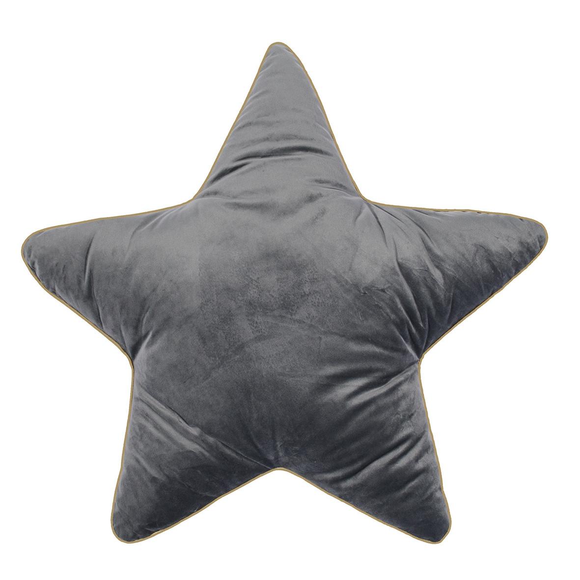 Sternenkissen Superstar Groß In Grau Pad Hier Bestellen