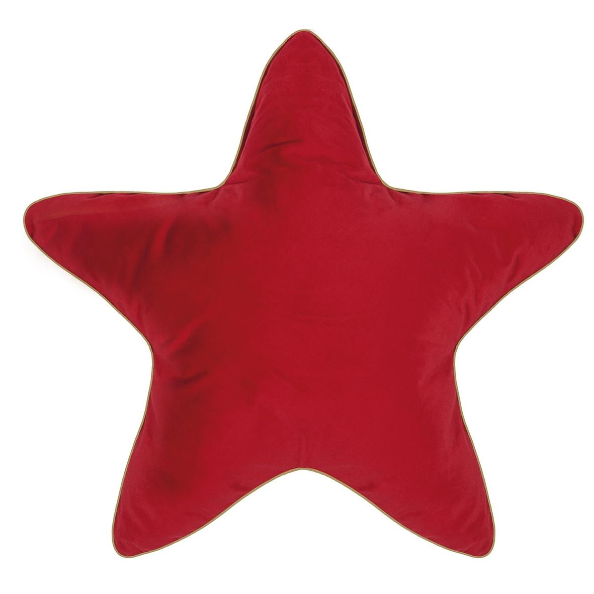 Großes Sternenkissen In Rot Pad Online Kaufen