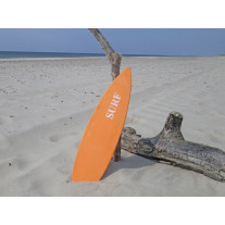 Schild SURFBOARD Orange 15x60