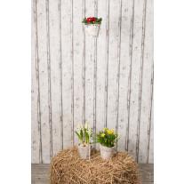 Gartenstecker FIONA weiß 52 cm