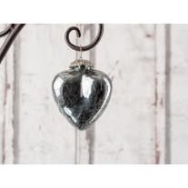 Hänger Herz - Silver - glänzend silber klein