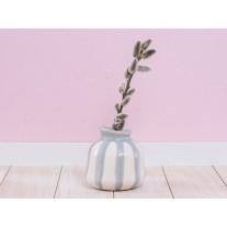 A Simple Mess Vase Lyst hellgrau/creme 10 cm