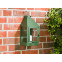 A2 Living Allwetter Wandlaterne Mini Grün 36 cm