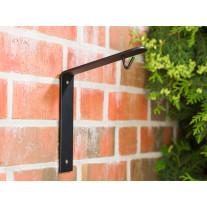 A2 Living Wandhalter für Allwetter Laterne schwarz