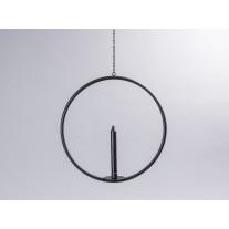 Affari Kerzenhalter AXEL schwarz 39 cm