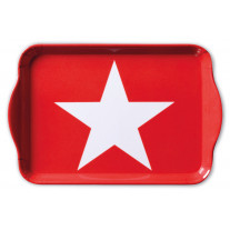 "Ambiente Tablett ""Star Red"""