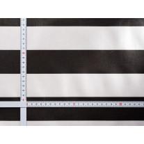 AU Maison Wachstuch Stripe Giant Almost Black