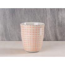 Bloomingville - Carla Becher orange 9,5 cm