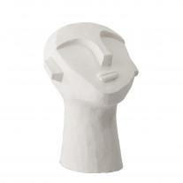 Bloomingville Büste Zement Skulptur Weiß
