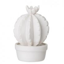 Bloomingville Deko Kaktus weiß 7,5 cm
