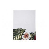 Bloomingville Geschirrtuch Aruba mit Blüten