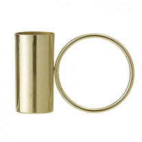 Bloomingville Kerzenhalter gold mit Ring