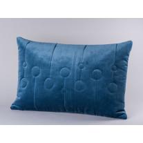 Bloomingville Kissen 40x60 blau mit Kreisen