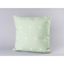 Bloomingville Kissen 45x45 grün mit weißen Palmen