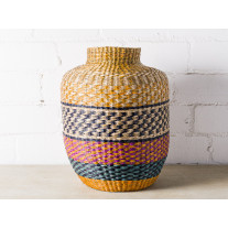 Bloomingville Korb Seegras Multi Color Deko Vase