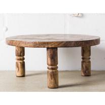 Bloomingville Pedestal Tablett Rund Holz 34 cm