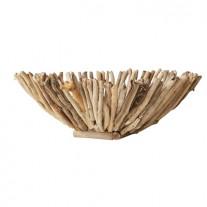 Bloomingville Schale Fleur de Sel Holz