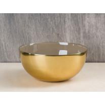 Bloomingville Schale gold braun 15 cm