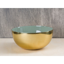 Bloomingville Schale gold grün 15 cm