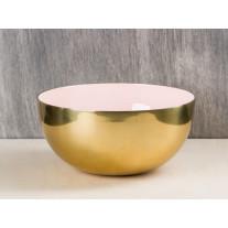 Bloomingville Schale gold rosa 20 cm