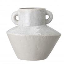 Bloomingville Vase Amphore Grau mit Henkeln 20 cm