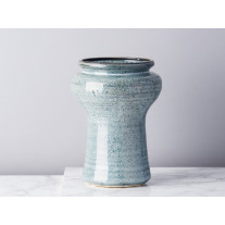 Bloomingville Vase Blau Keramik 19 cm